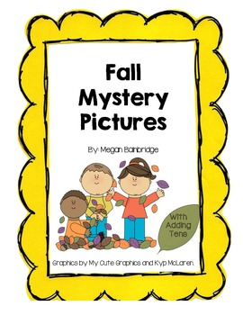 Fall Mystery Pictures (with adding tens)