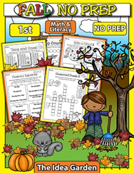 Fall NO PREP - Math & Literacy (First)