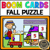 Fall NUMBER PUZZLE 0-9: BOOM CARDS