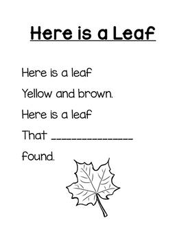 Fall Name Poems