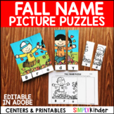 Fall Name Puzzles