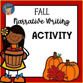 Fall Narrative Writing Activity