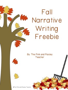 Fall Narrative Writing Freebie