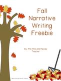 Fall Narrative Writing Freebie