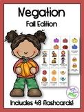 Negation Flashcards: Fall Edition