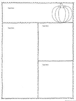 Fall Newsletters - Editable