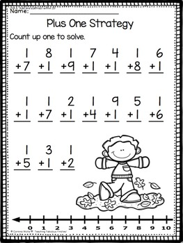 Fall: No Time for Prep Common Core Math Practice for First Grade