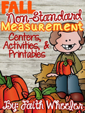 Fall Non-Standard Measurement Packet