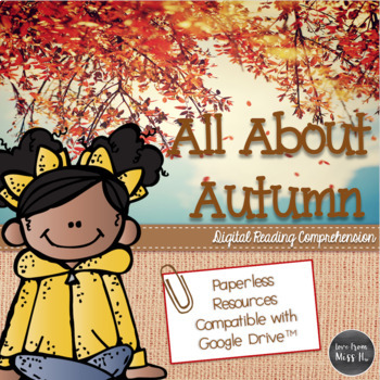 Fall Nonfiction Reading Comprehension (DIGITAL VERSION)