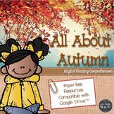 Fall Nonfiction Reading Comprehension (DIGITAL VERSION)
