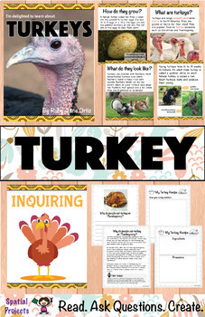 Fall Nonfiction Units (Spiders, Bats, and Turkeys)