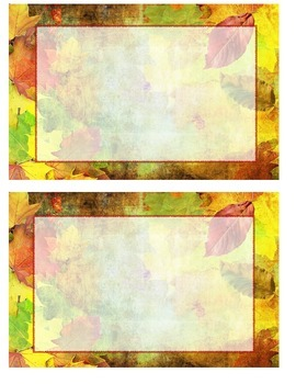 Fall Notecards (free!)