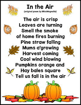Fall Noticings