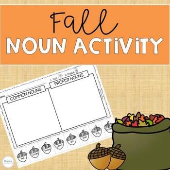 Fall Noun Activity