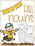 Fall Noun Practice