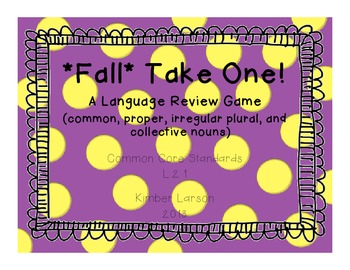 Fall Noun Take One Game