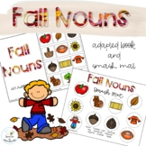 Fall Nouns Adapted Book // Speech Therapy // Grammar // Vo