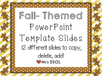 Fall / November PowerPoint Template