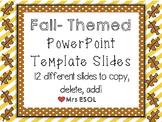 Fall / November PowerPoint Template