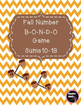 Fall Number B-O-N-D-O Game