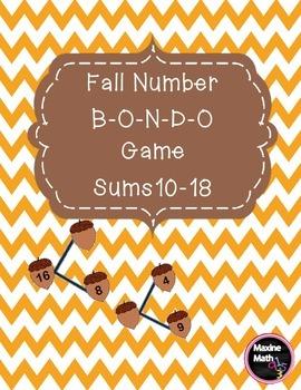 Fall Number B-O-N-D-O Game