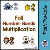 Fall Number Bonds - Multiplication