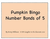 Fall Number Bonds of 5 Bingo