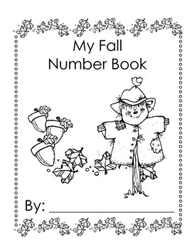 Fall Number Booklet