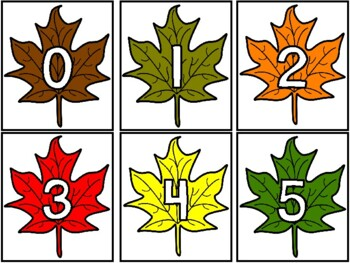 Fall Number Hunt