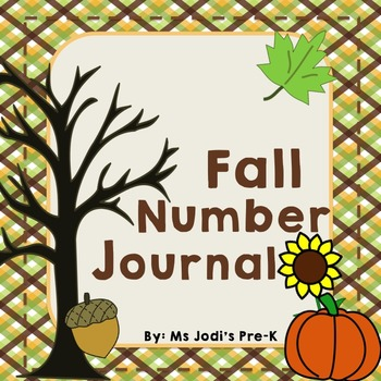 Fall Number Journal