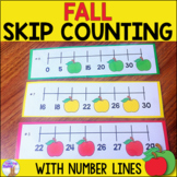 Fall Number Line Center
