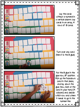 Fall Number Line Mystery by Kim Adsit