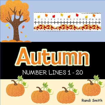 Fall Number Lines 1-20
