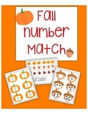 Fall Number Match Game