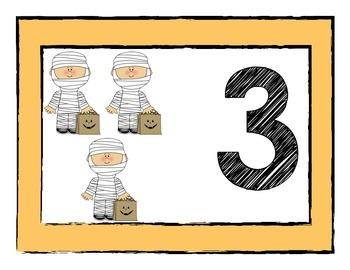 Fall Number Mats