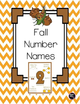 Fall Number Names
