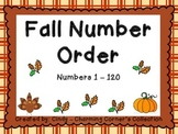 Number Order - Thanksgiving