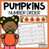Pumpkin Number Order 1-30