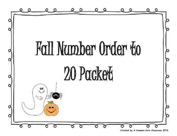 Fall Number Order to 20