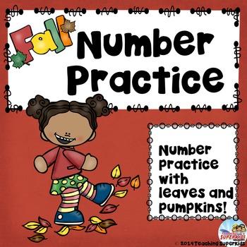 Fall Number Fun
