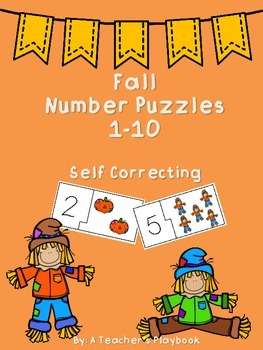 Fall Number Puzzles 1-10