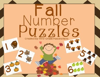 Fall Number Puzzles