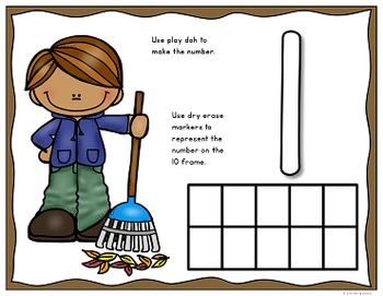 Fall Number Recognition Fun