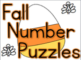 Fall Number Recognition Puzzles