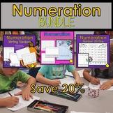 Fall Number Sense Number Writing Game