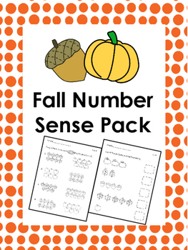 Fall Number Sense Pack