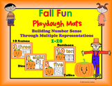 Fall Number Sense Playdough Mats Bundle