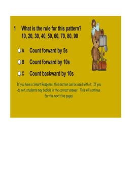 Fall Number Sense Smartboard Activity - Skip Counting/Growing Patterns