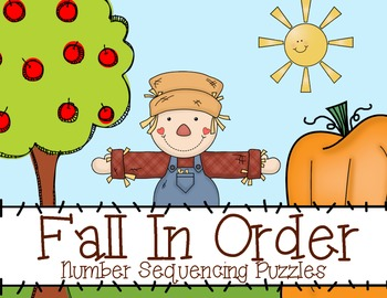 Fall Number Sequence Puzzles