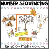 Fall Number Sequencing Activities